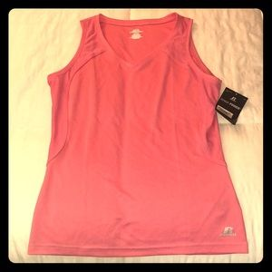 NWT pink Russell athletic shirt - size M